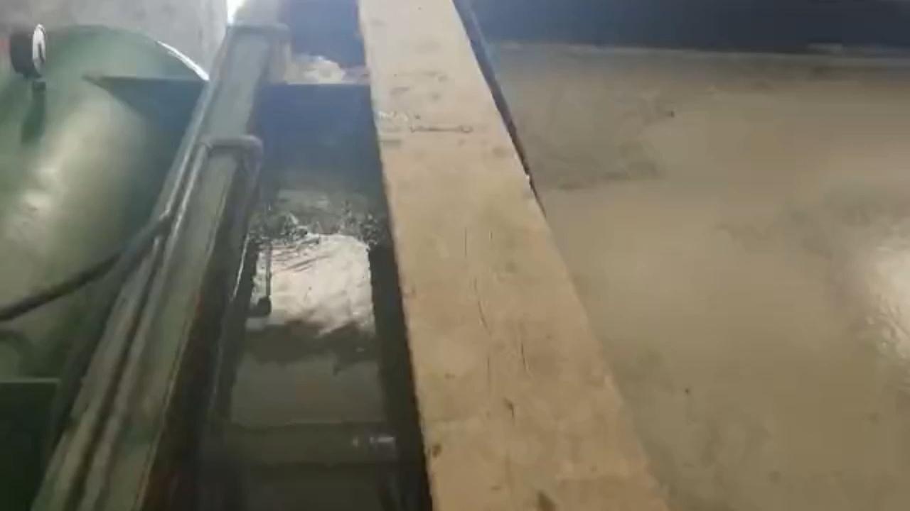 Yüksek kaliteli daf su arıtma makinesi tedavi yağ atık madde