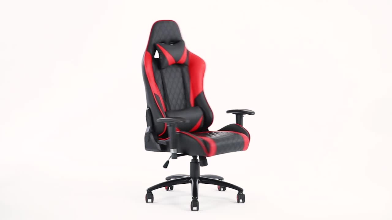 china anji wholesale genuine leather pc ps4 cheap high back computer office gaming racing chair