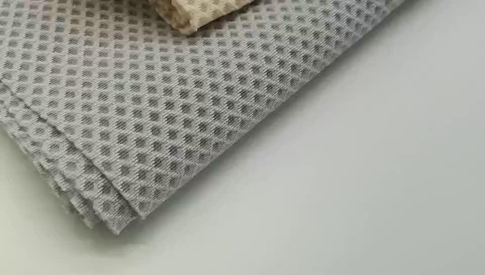3D spacer hava tabakası örgü kumaş ofis koltuğu ham malzeme moda stil