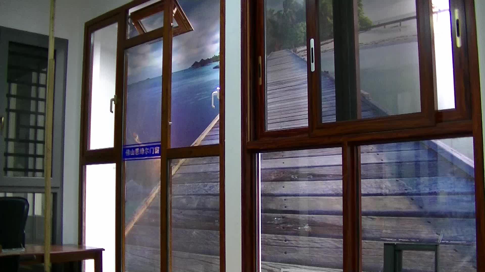 Thermal Break Aluminum Frame Glass Windows Aluminum