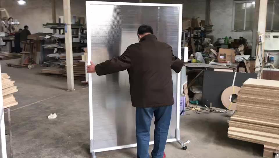 Heißer Verkauf Neue Design Büro Voller Höhe Plexiglas Raumteiler Glas Wand Partition