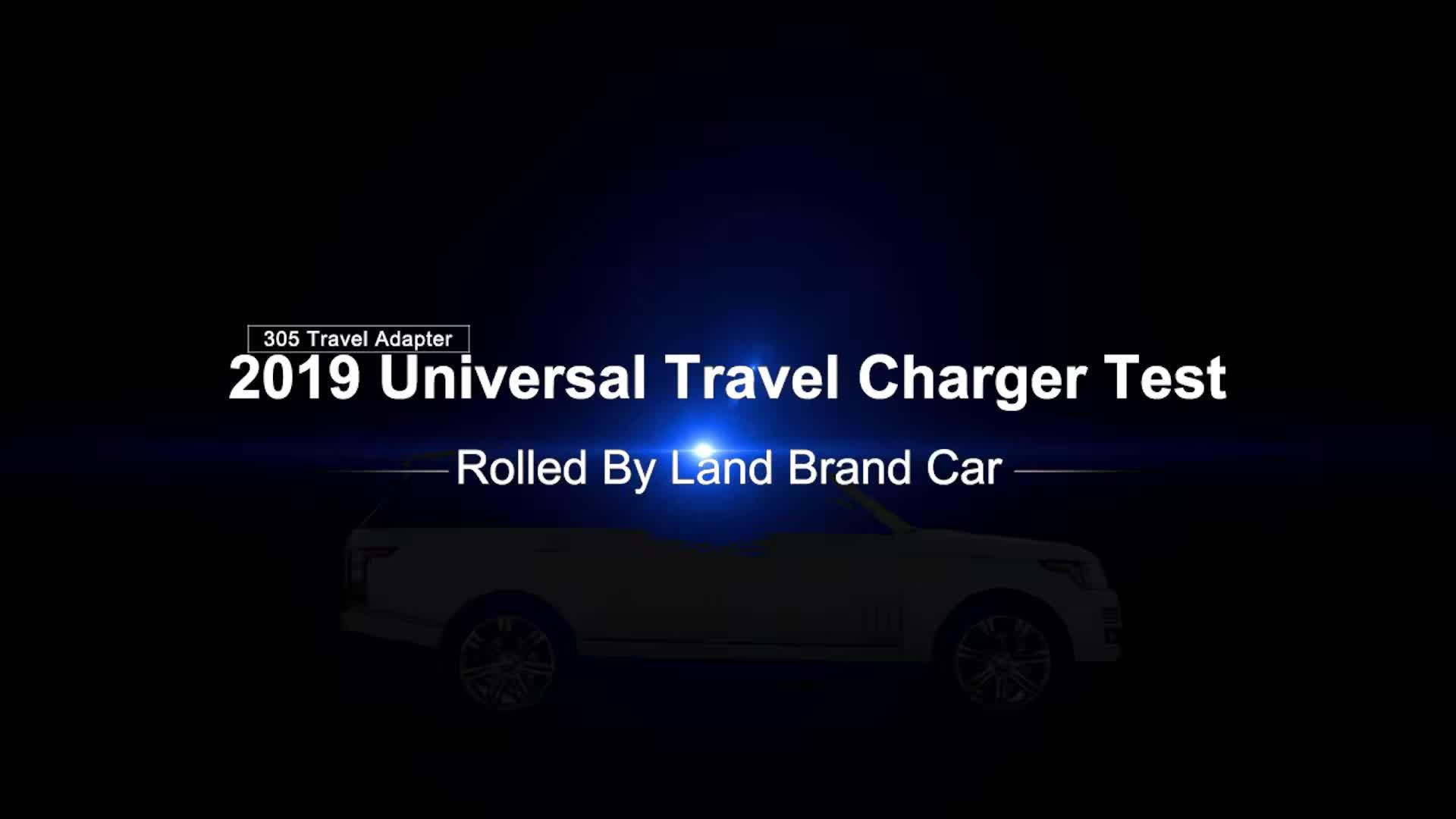 Wontravel 4USB TYPE C Adaptor Semua Dalam Satu Universal World Travel Adaptor Steker Internasional Adaptor Soket Charger