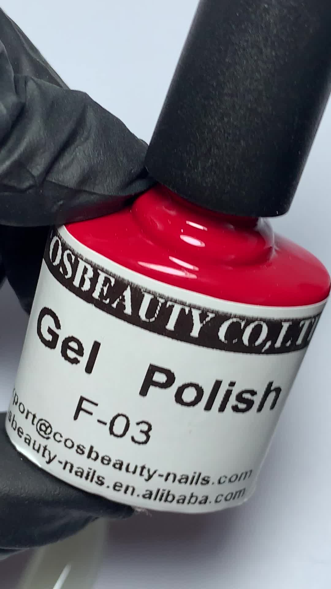 COS Beauty Wholesale OEM/ODM Private Label Long Lasting Gel Polish Soak Off In UV Set With Free Sample