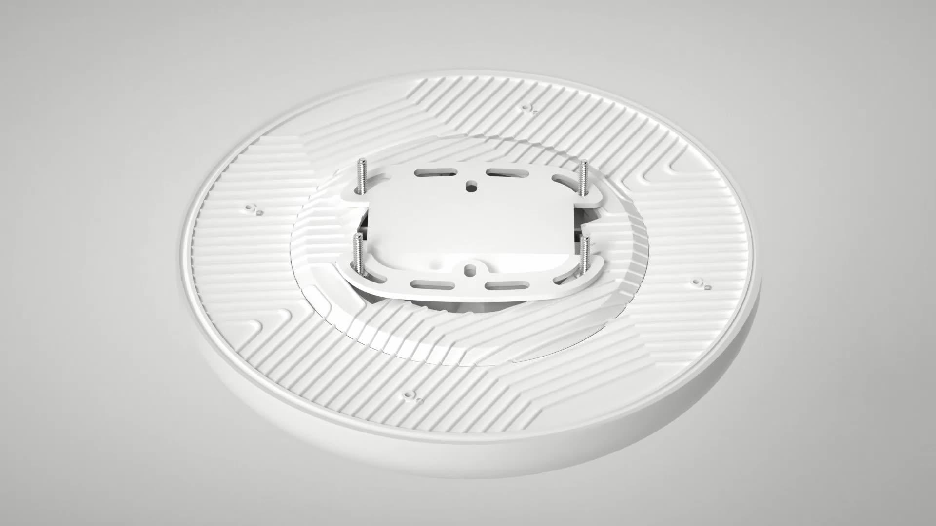 התקנה קלה led תקרת אור צמודי 36w led תקרת אור עם TUV CB CE פטנט