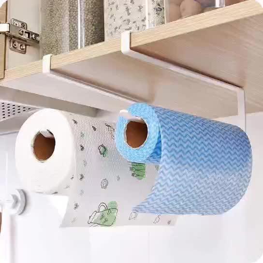 Papierrol Rack Keuken Kast Opknoping Papieren Handdoek Houder Rack Opslag Rek voor badkamer