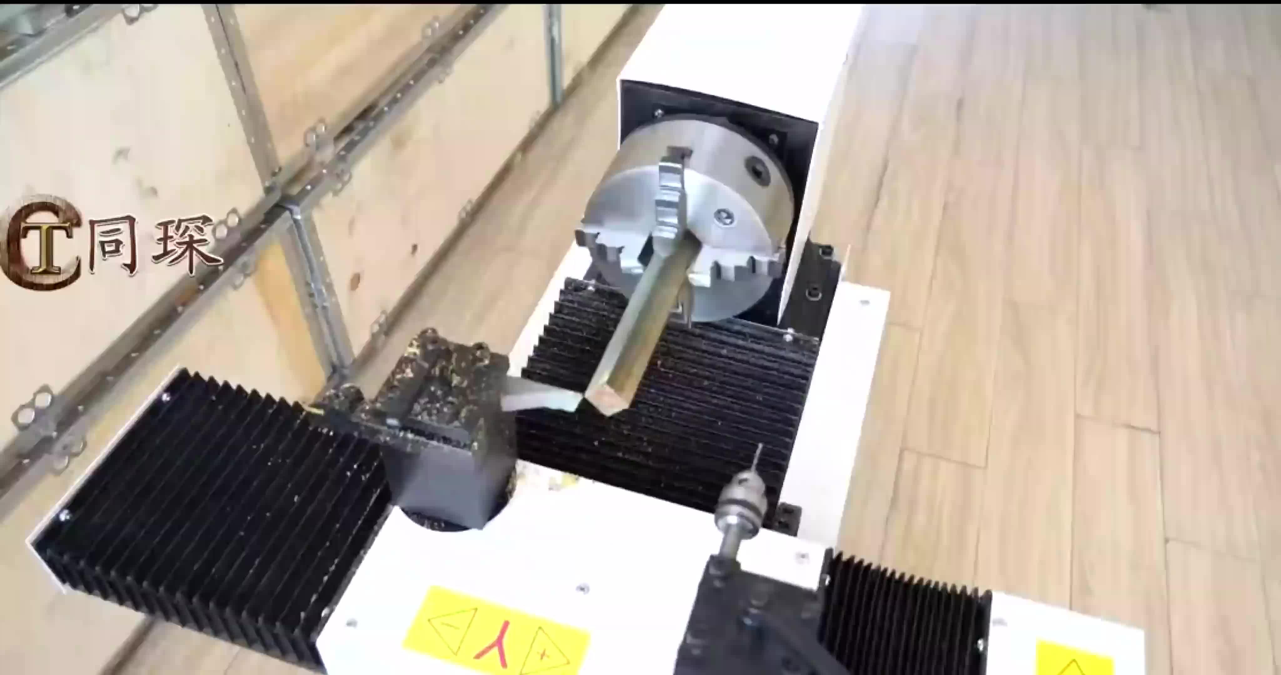 A16 Four-Axis มินิ CNC เครื่องกลึงเปลี่ยนราคา