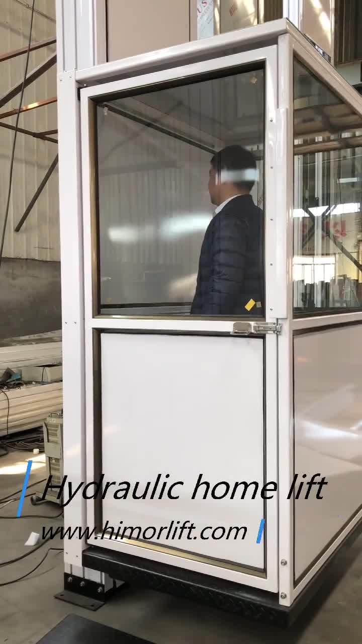 2-10m Cheap hydraulic small villa lift elevator for home lift