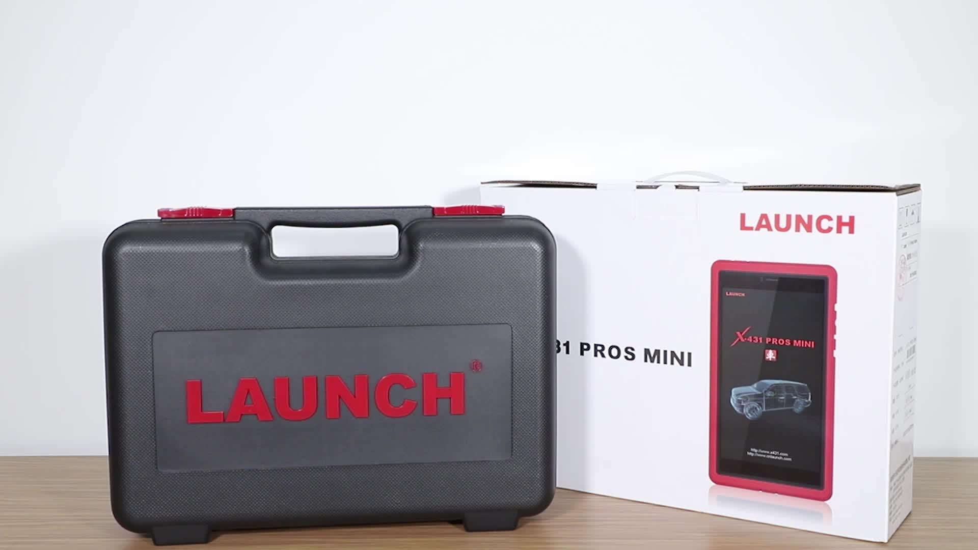 Portable Launch X431 Pros Mini / Pro Mini Scanner Vehicle Diagnostic Machine for European Japanese Car