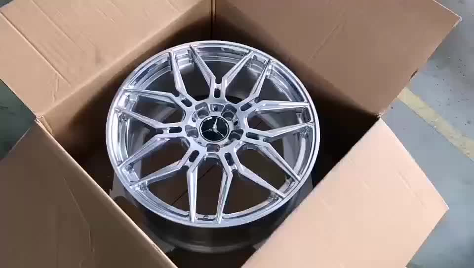 """20inch Rims Polish Customized Forged Alloy Rims For Porsche 911/ Rim 20"""" Forged Wheels"""