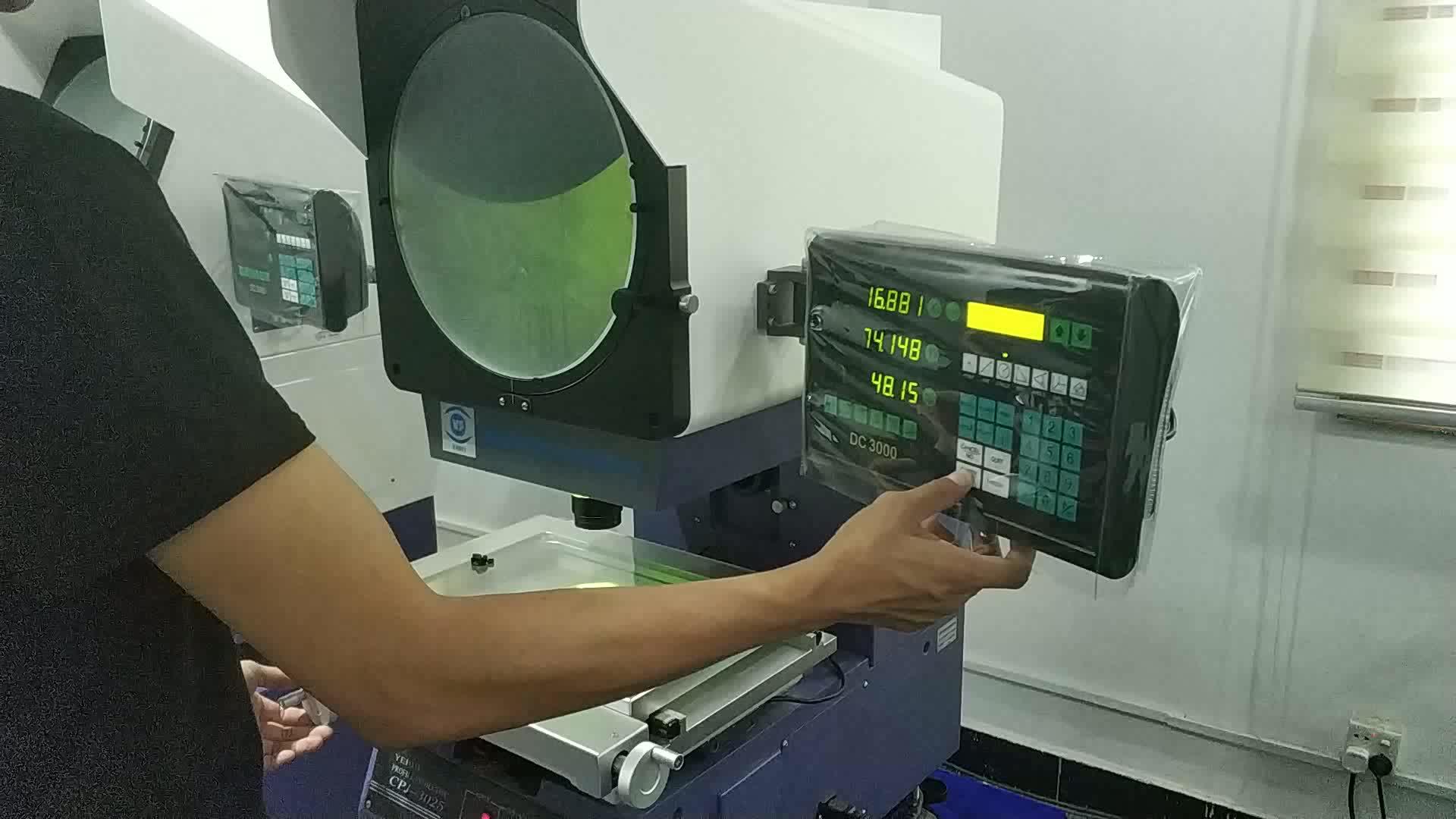 Измерительный теневой профиль проектора