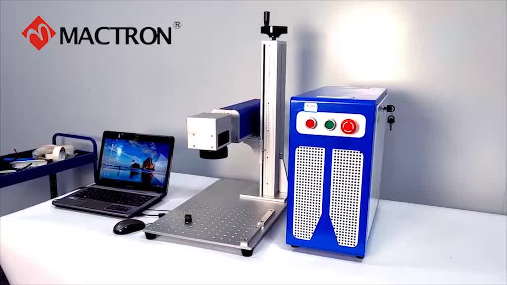 Laser Marker 20W 30W 50W CNC Yag Portable Mini Color Fiber Laser Marking Machine For Metal/Mini Fiber Laser