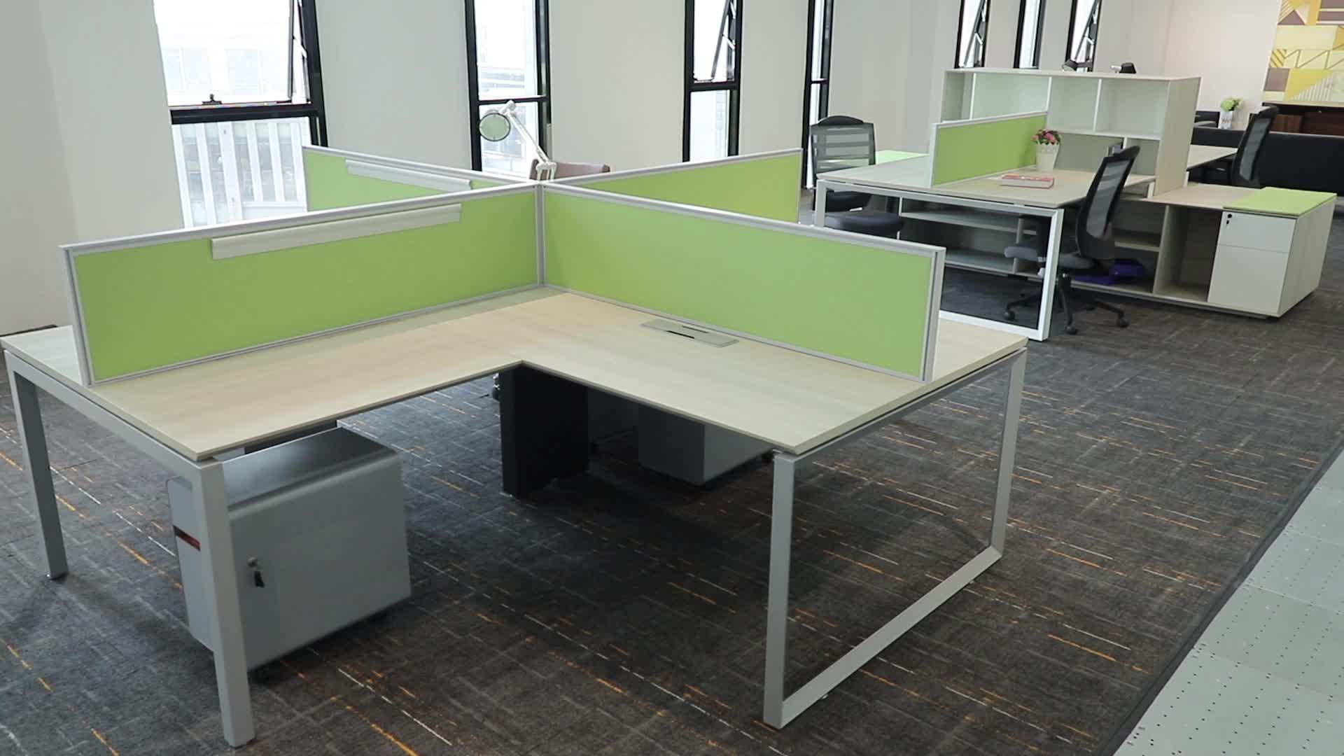 Bas prix style européen moderne apparence et usage général de meubles ensembles petit coin bureau à domicile pour le bureau à la maison