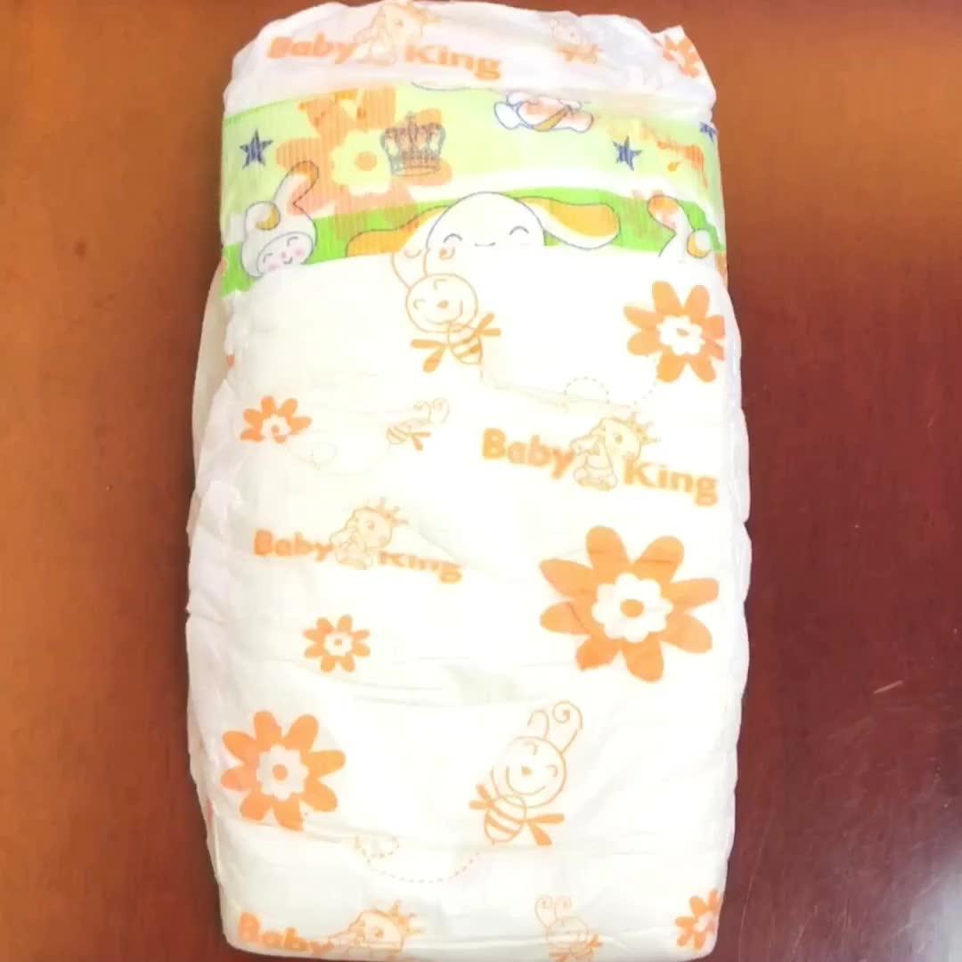 Prenez soin de bébé-sec jetable fabricant de couches pour bébés en Chine