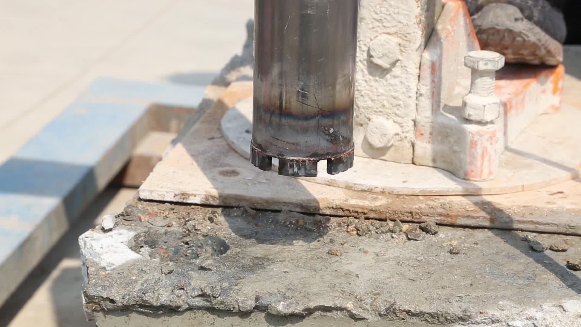 1 1/4 UNC ダイヤモンドコアドリルビット高品質コンクリートウェット掘削ビット