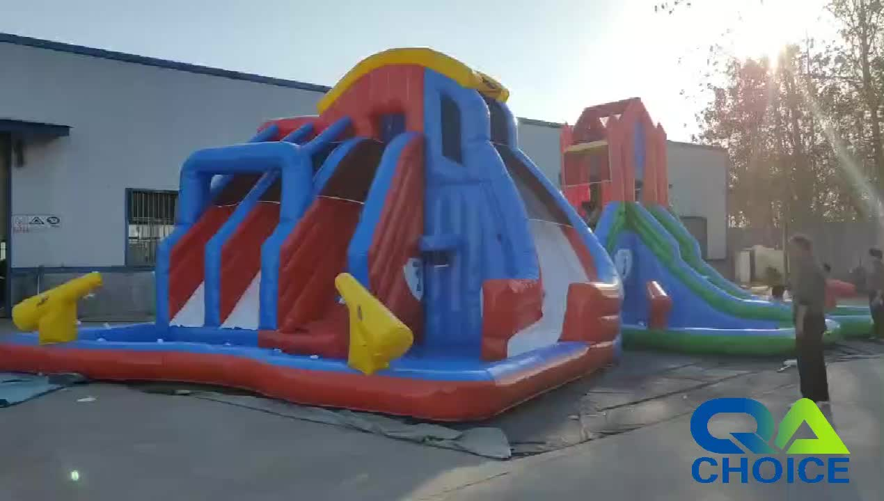 2019 Customized PVC Tarpaulin Durable Commercial Giant inflatable Water Slide