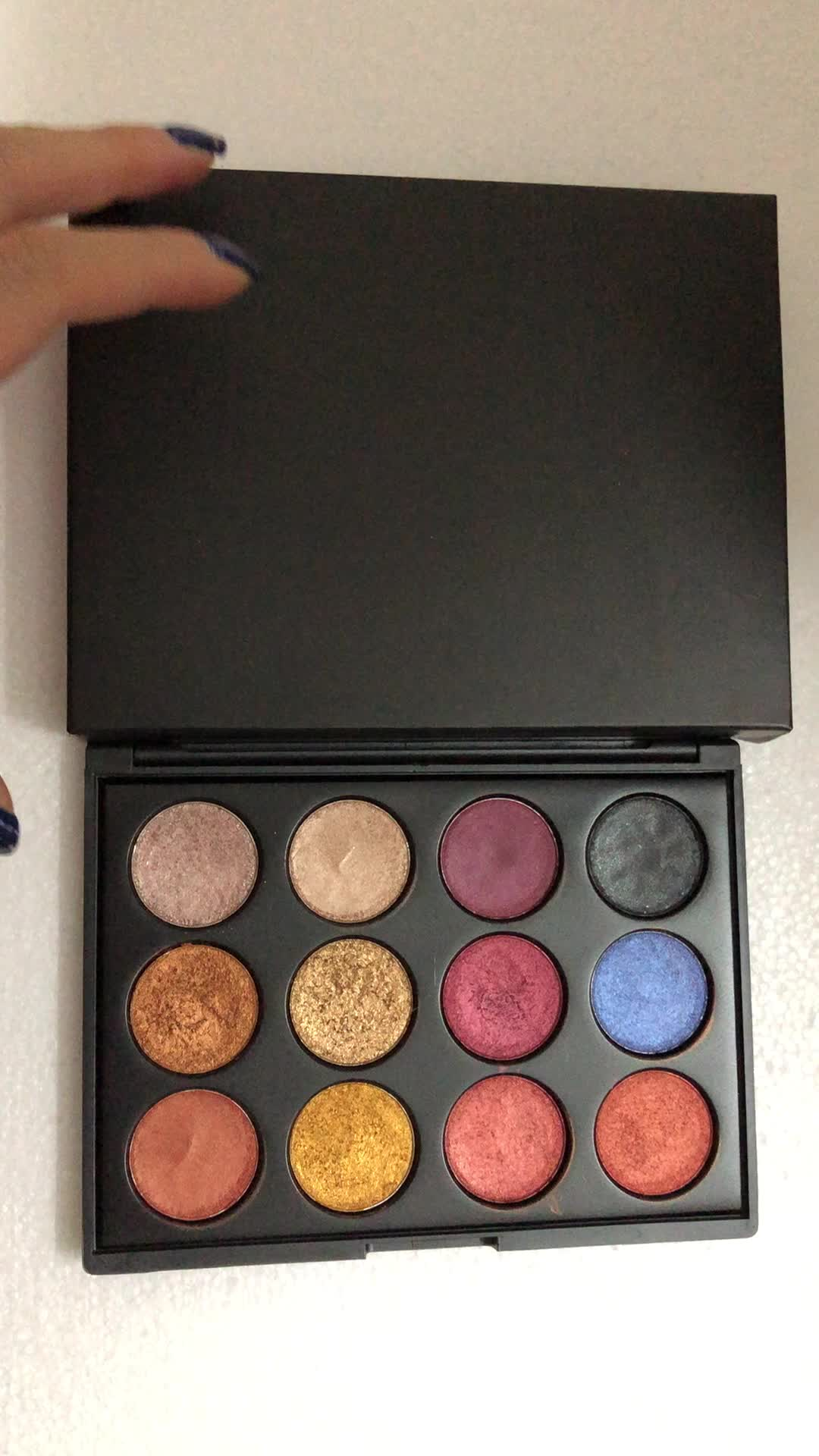 Best Private Label 18 colors high pigment baked eyeshadow