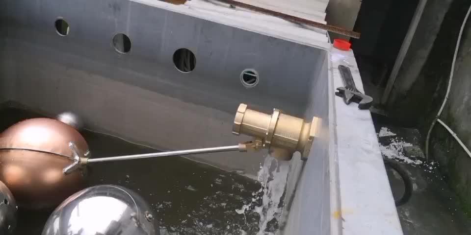 "China float valve 2 ""3"" ""4"" brass large industrial ball float valve"