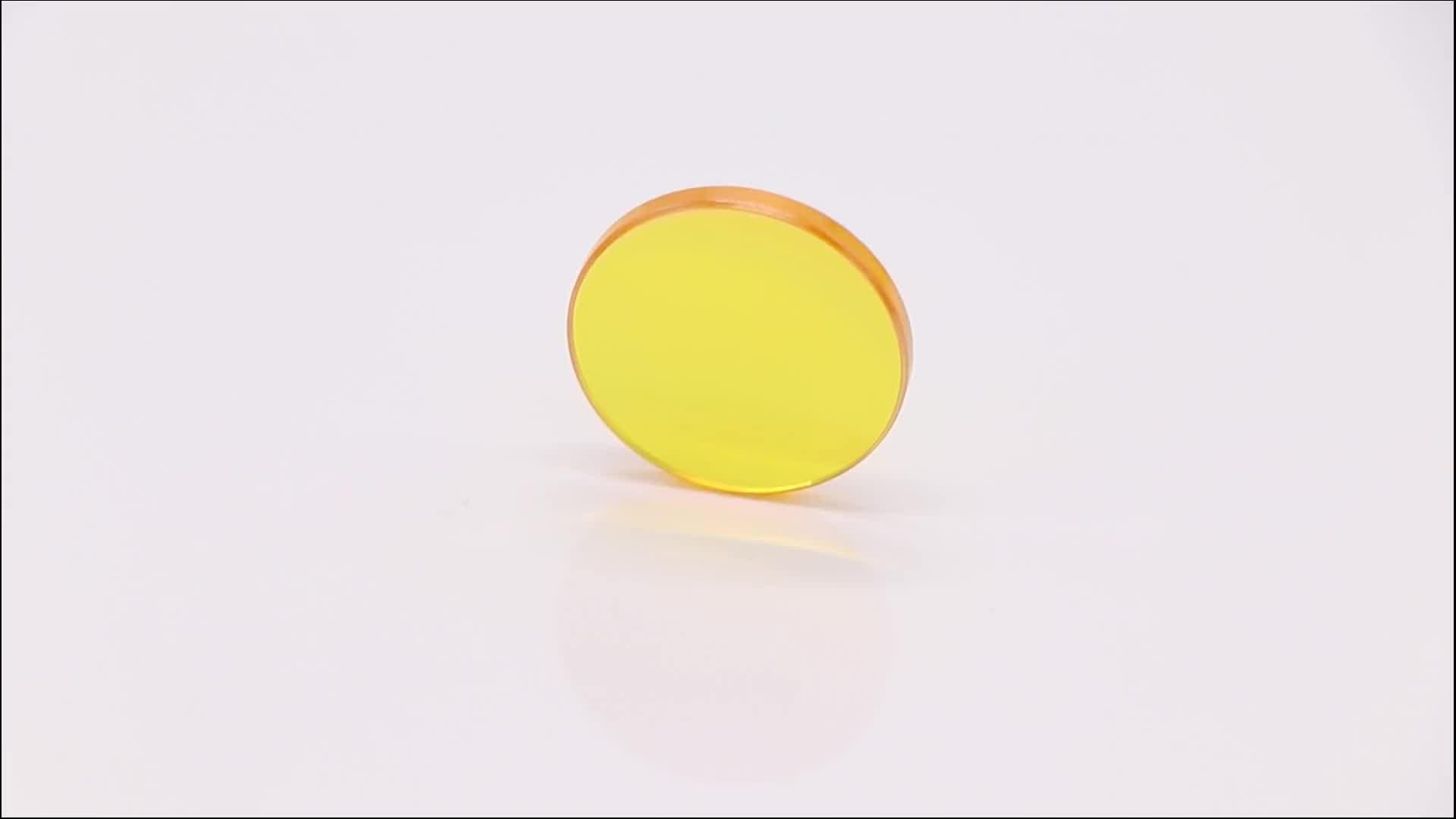 Rekabetçi Fiyat ABD Znse Fiber Lazer odak lensi Diameter15mm FT25.4mm Lazer Makinesi Kaliteli