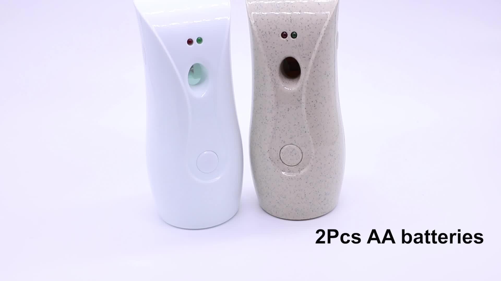 Hotel Oficina aire recarga puede 300ml inteligente perfume spray de aire automático de la máquina de ambientador dispensador de fragancia