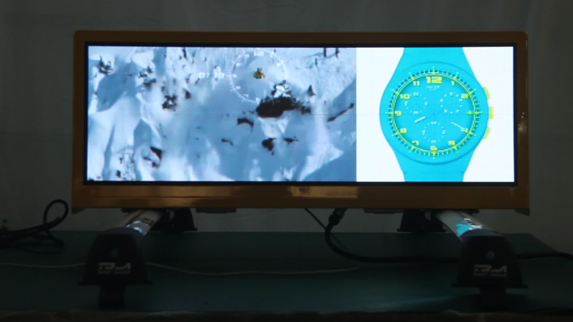 P2.5 draagbare led display screen 3G WIFI GPS controle taxi reclame dak top box