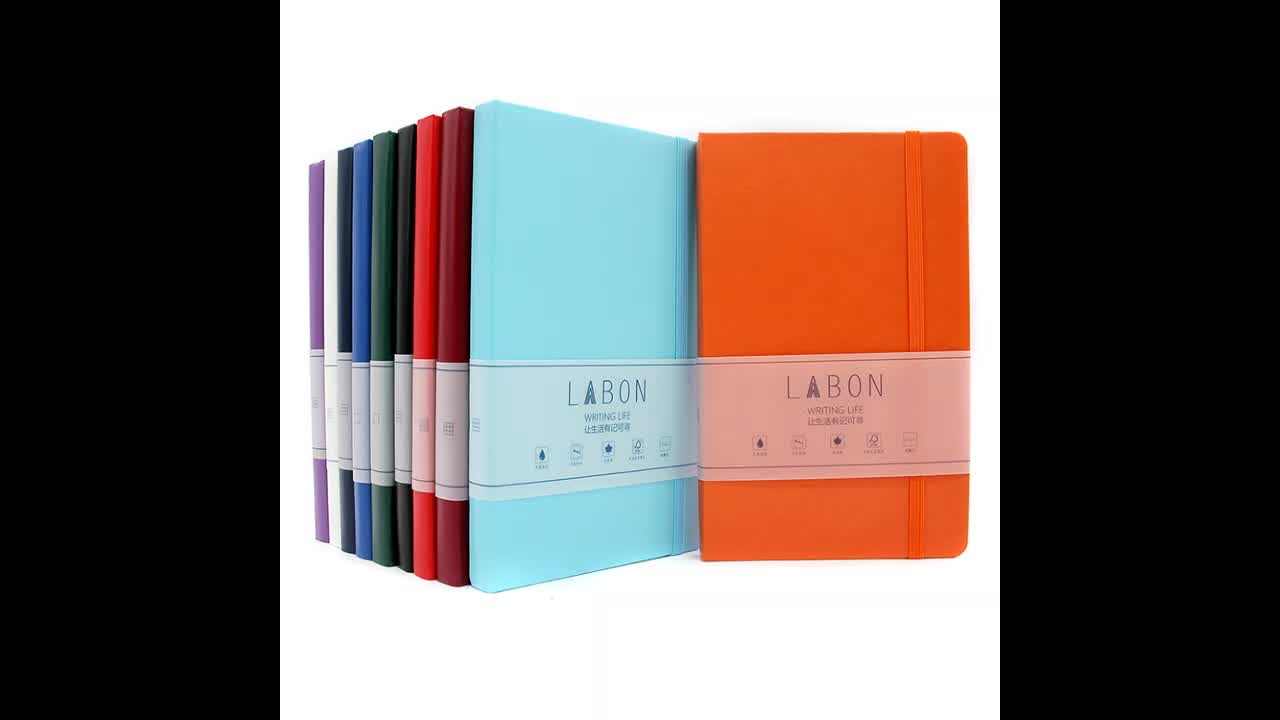 wholesale new design high quality A4 A5 notepad fashion custom pu leather Diary notebook Hardcover Planner Journal