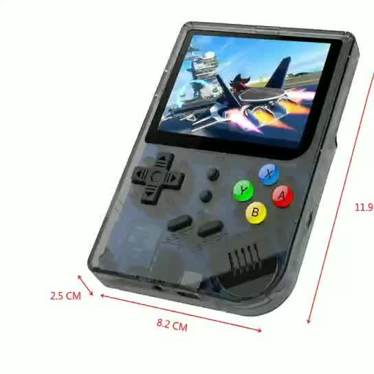 Lecteur de jeu Open Source Console de jeu vidéo 64 bits 3.0 pouces 3000 dans une boîte de jeu RG300
