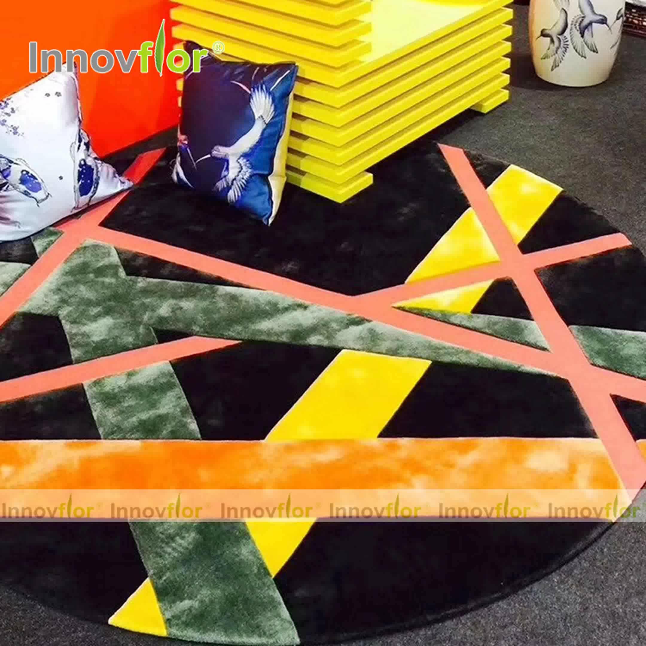 Nuevo diseño alfombra importados de china mano anudada alfombra/alfombra para sala