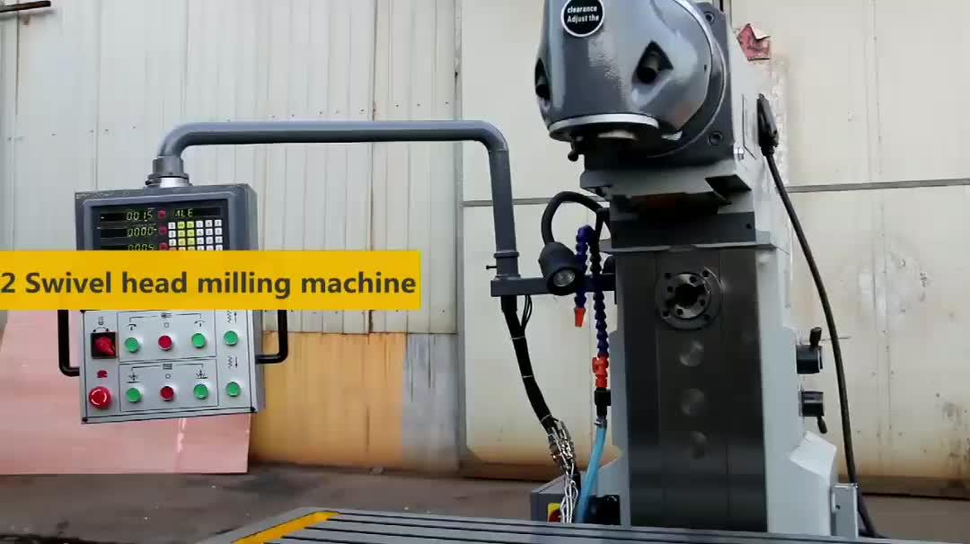 DRO swivel head milling machine X6436 universal milling machine price