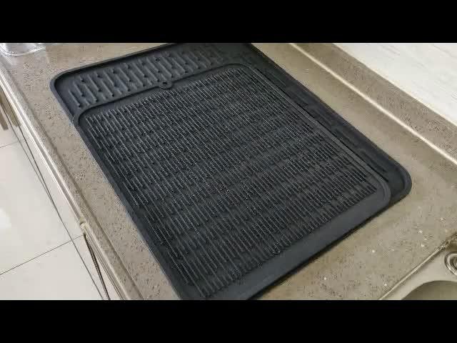 Renjia Silicone Sink Mat Dish Drying Mat Uk Silicone