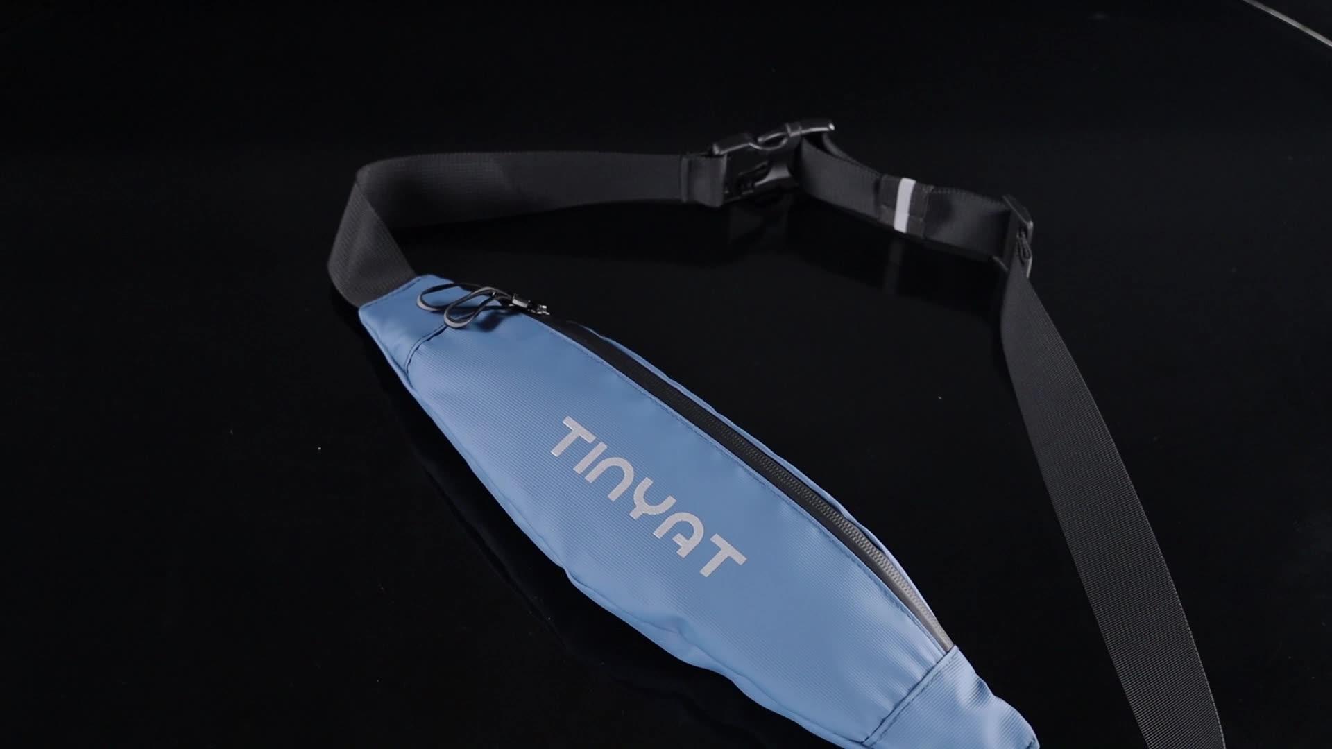 T2005 Casque Câble Trou Ceinture Reflète Logo Sac de Taille pour le Cyclisme