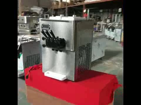 Express to worldwide ETL NSF CE approval Kolice factory table top soft ice cream machine