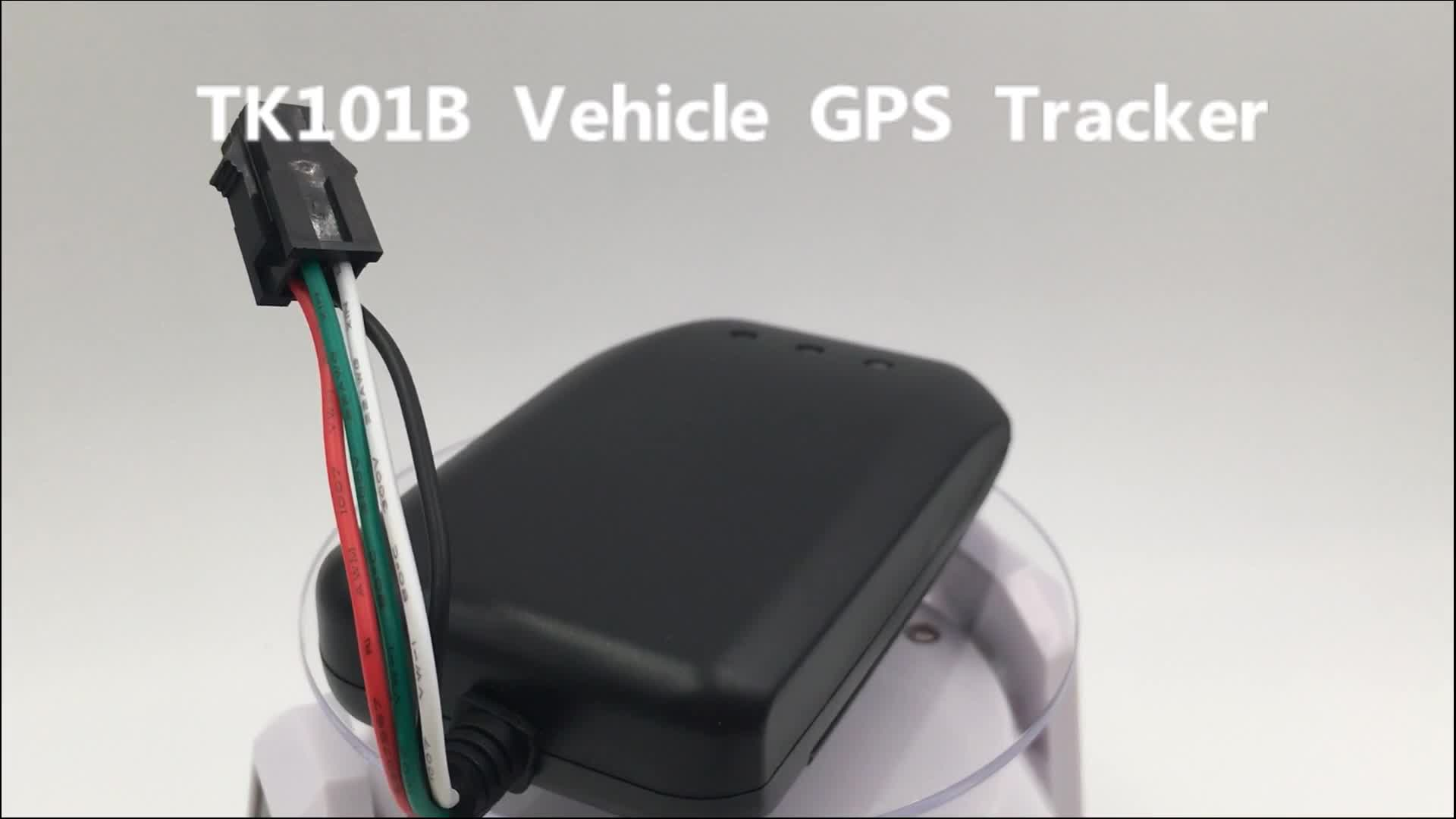 New TK101B accurate vehicle tracker manual gps tracker gt06