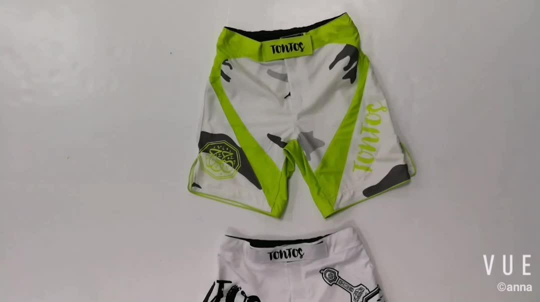 Feitos sob encomenda baratos mma shorts mma luta shorts mma curta