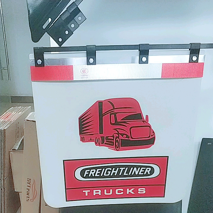 Custom mud flap for distributors or retailers