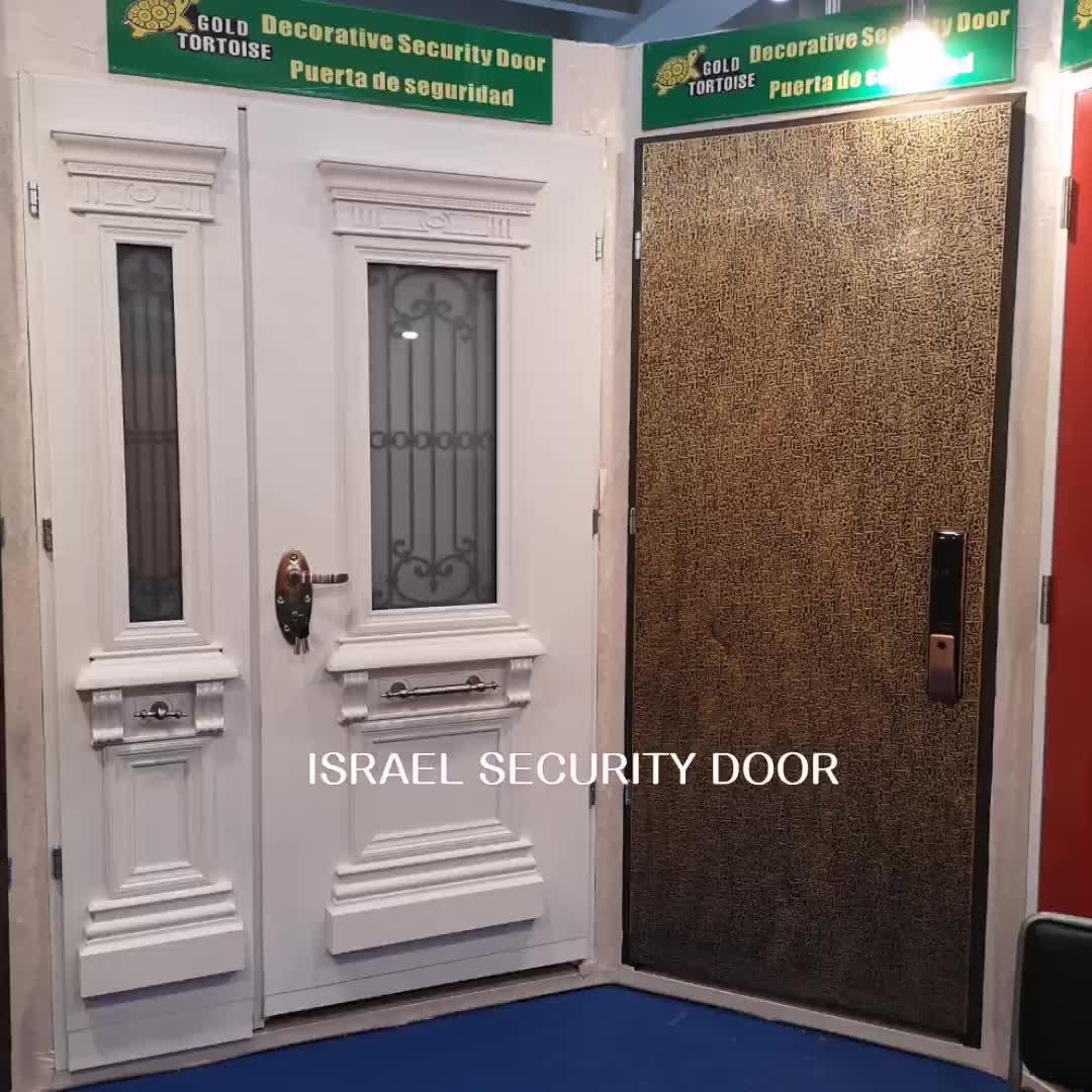 Chines style security door,home security door,good quality steel security door