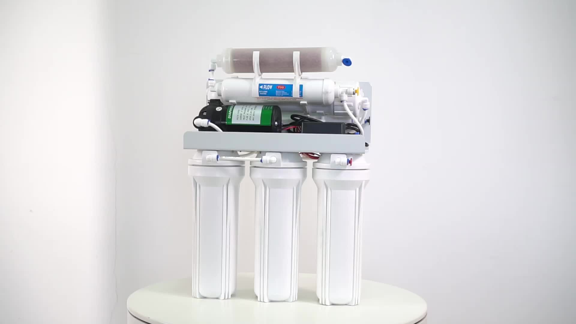 6 Stage Home Water Purifier Filter Water By Ro System With