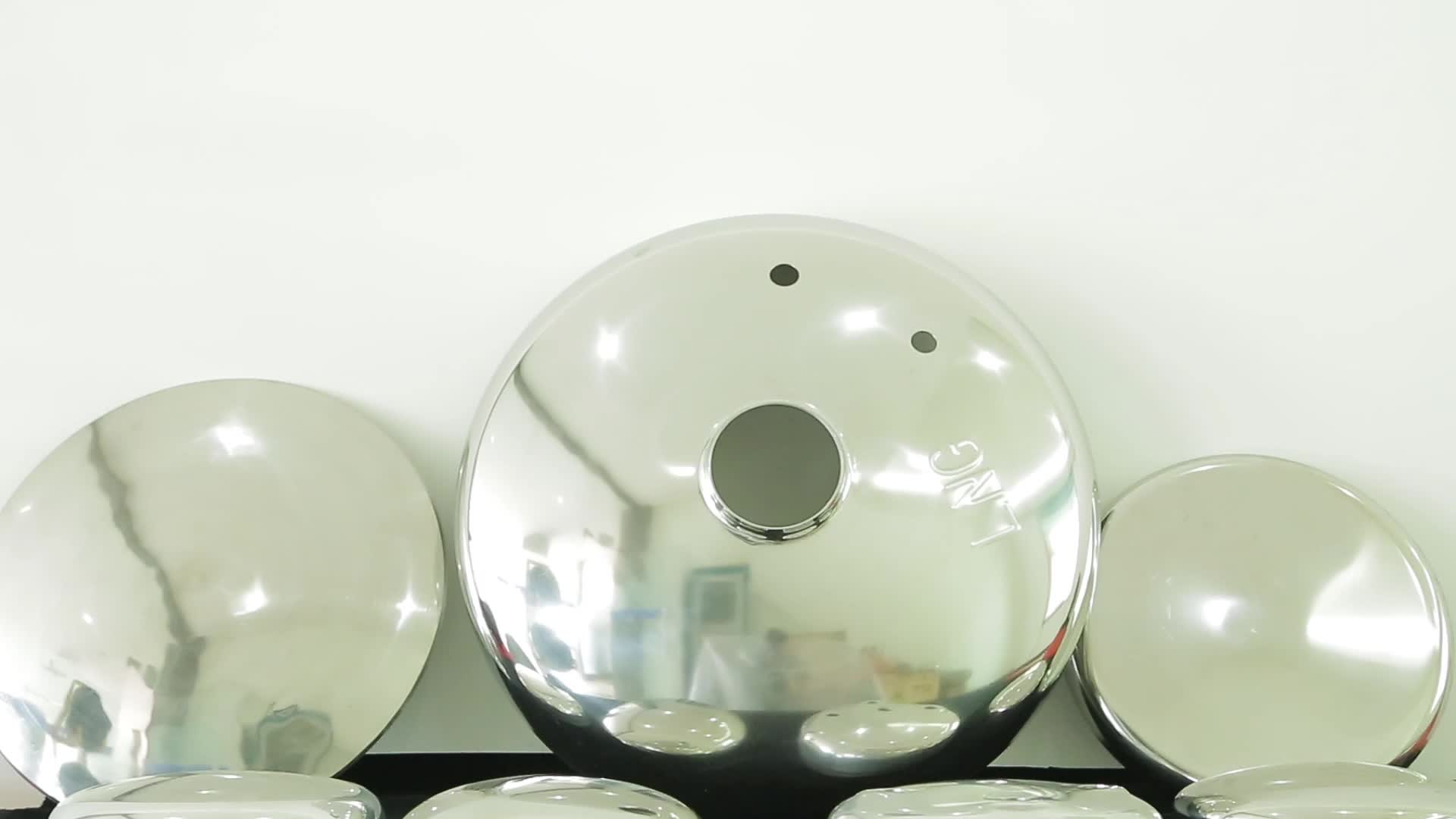 """Cheap price 36"""" mild steel half sphere 6mm thickness for fireworks"""