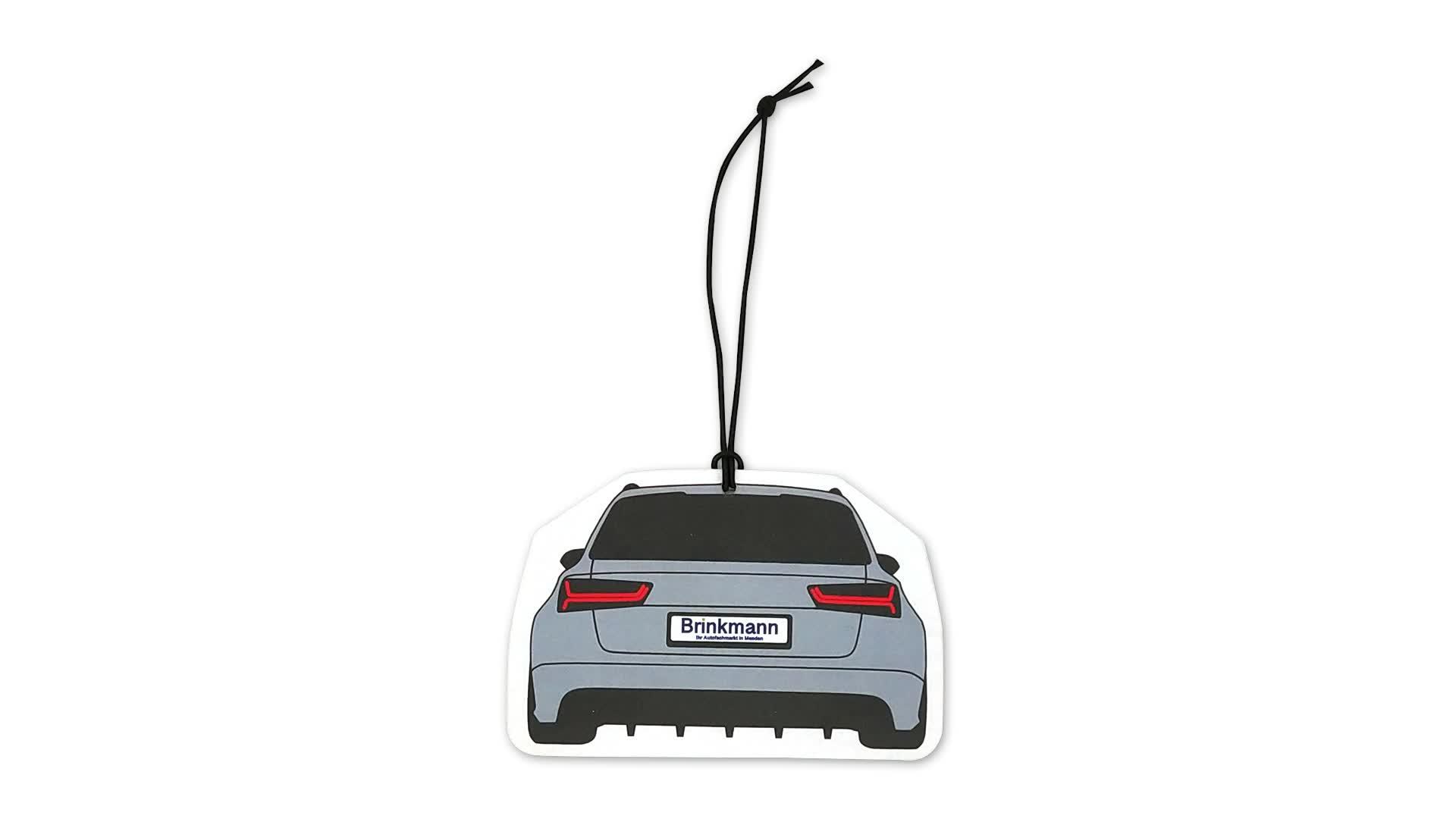 Toptan özel araba ve ev kullanımı iyi kokusu ile kağıt hava spreyi sprey