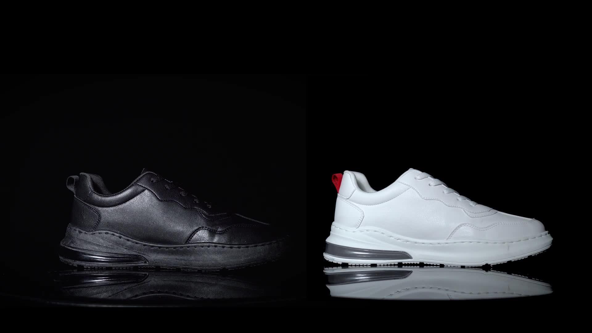 Kustom Grosir Baru Fashion Pria Sepatu Kasual + Sepatu Pria Kasual Sepatu Dibuat Di Cina