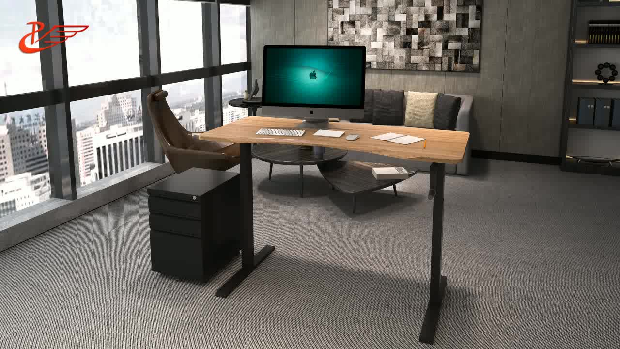 motorized adjustable height table legs sitstanding desk frame manual height adjustable desk