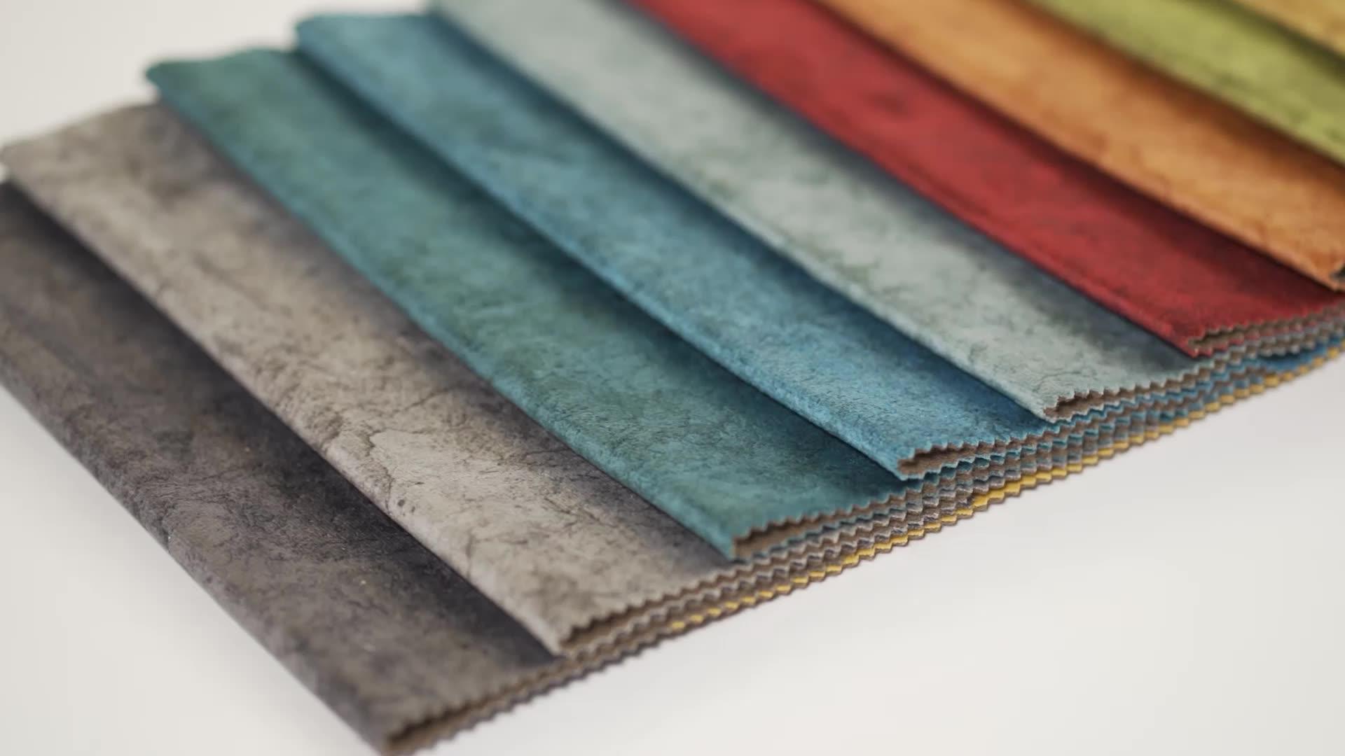 100 Polyester fabric Hot Design Good Price Good Handle feeling Printing Holland velvet, Upholstery for cushion