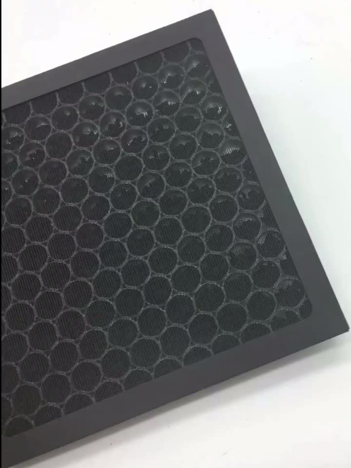 Honeycomb activated carbon filter sheets price for smoke