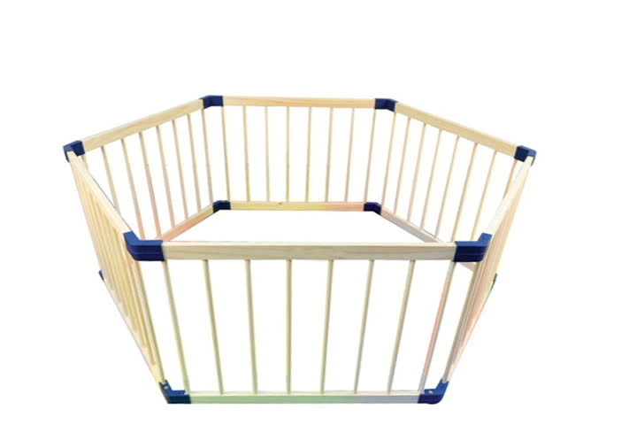 Wooden Baby Play Portable Playard Playpen Baby Playpens