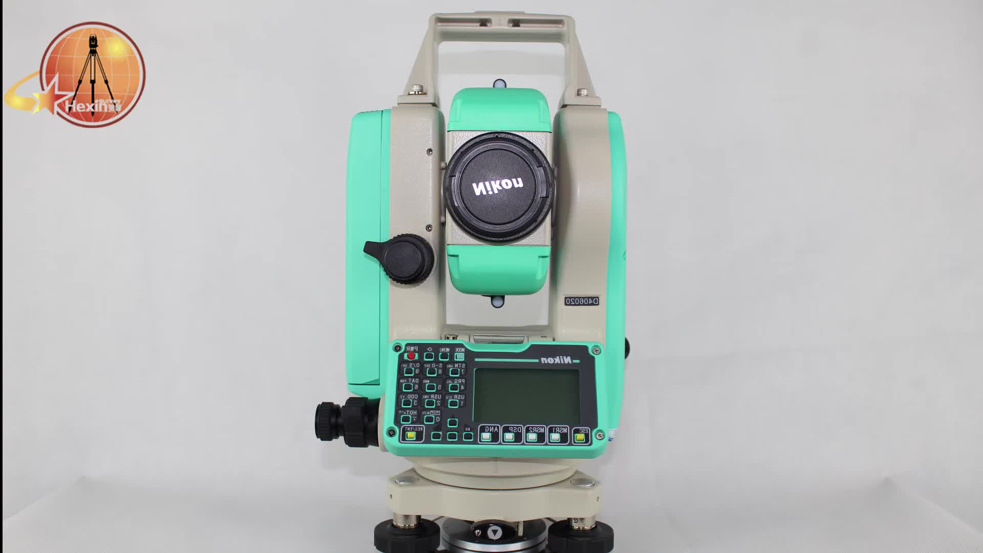 Good quality total station Nikon  NPL - 322 + 5 P with convenient and long-lasting Li-ion battery