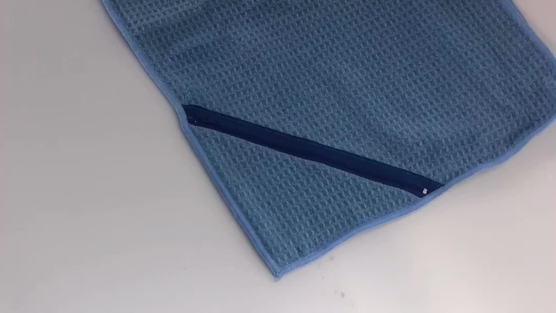Fitnesss Microfiber Waffle Weave Sports Towel