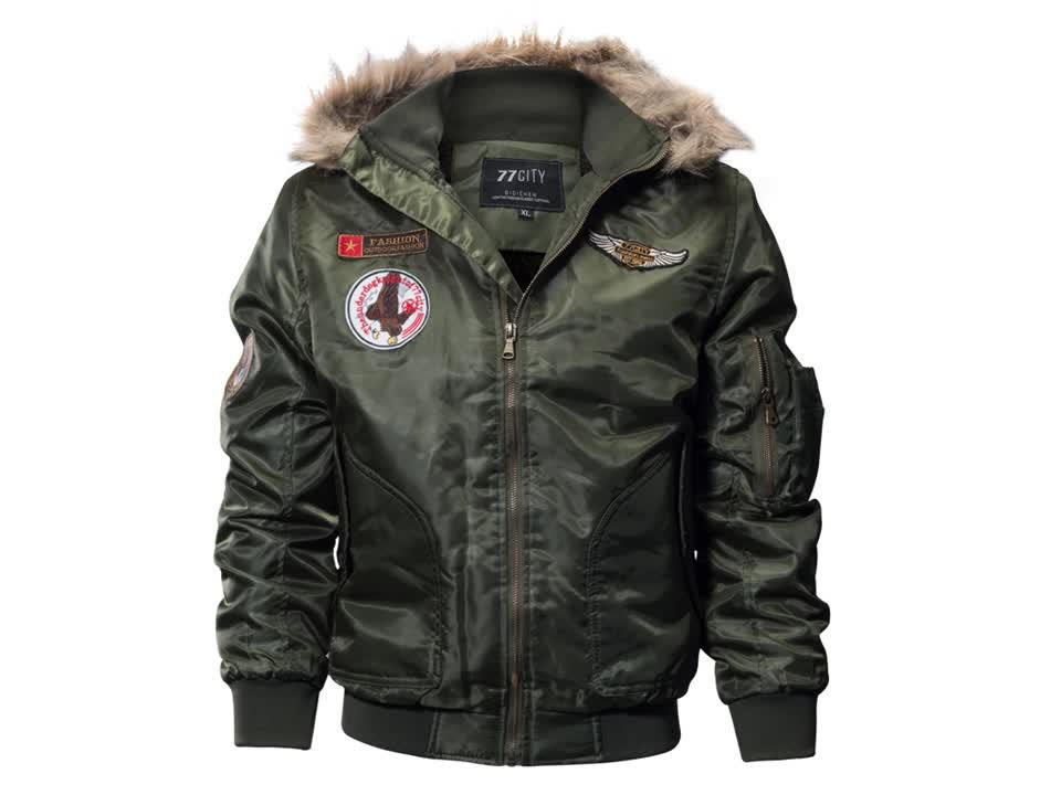 Ca5011b fournisseur D'or en gros homme vêtements d'hiver avec capuche vêtements d'hiver parka fourrure à capuche veste hommes