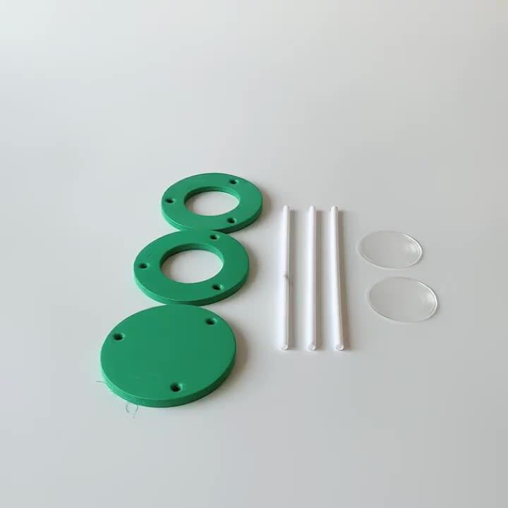 DIY microscope kit diy educational science toys