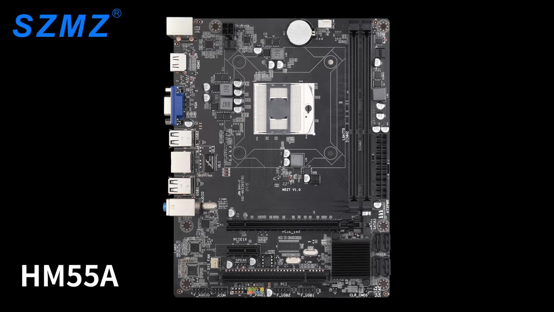 Best HM55 mini motherboard with pga988 i3/i5/i7 cpu DDR3 ram for gaming