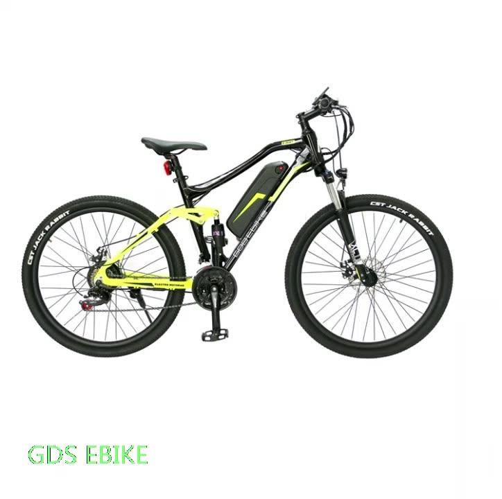 Mountain 250w Sport Full Suspension Bikes Wholesale Electric Bike Bicycle