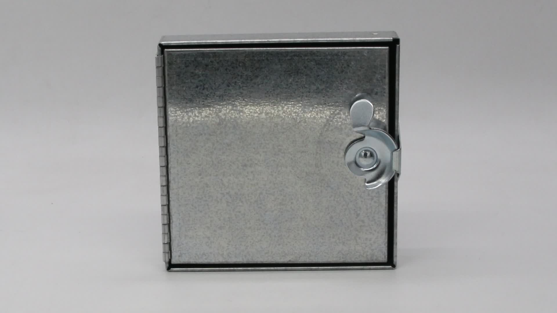 Hvac Galvanized Sheet Metal Duct Hinged Access Door Buy